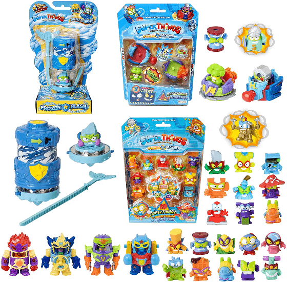 superzings serie 7 pack blister power machines